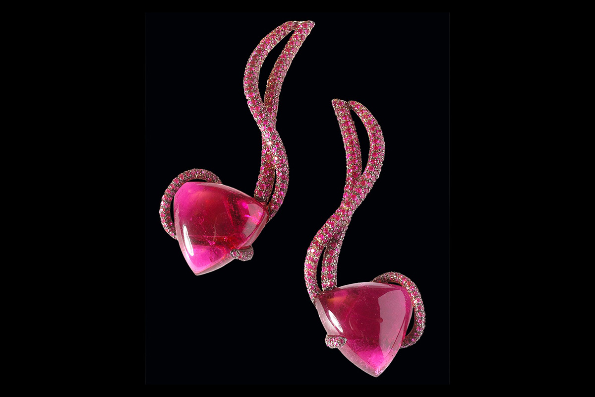 rami abboud ruby earrings 1