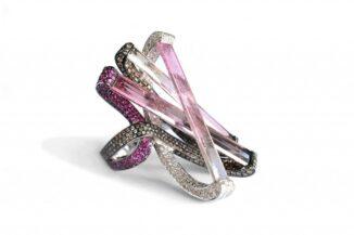 Three-dimensional Sculptured Ring